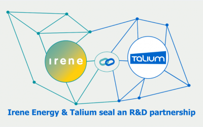 Communiqué de presse: partenariat Irene Energy – Talium