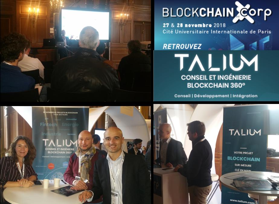 Conférence Blockchain Paris 27-28 Nov 2018 : comment, concrètement, la blockchain peut-elle apporter de la valeur ?